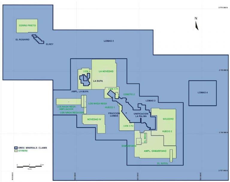 Mapa Cerro Prieto