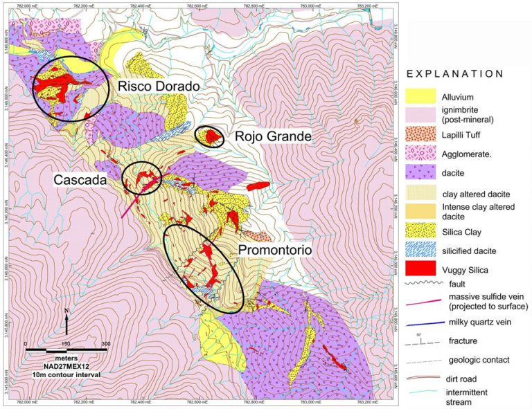 sketch geology Promontorio