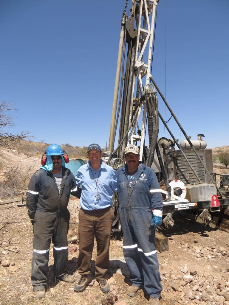 JMS with drilling team in 2015